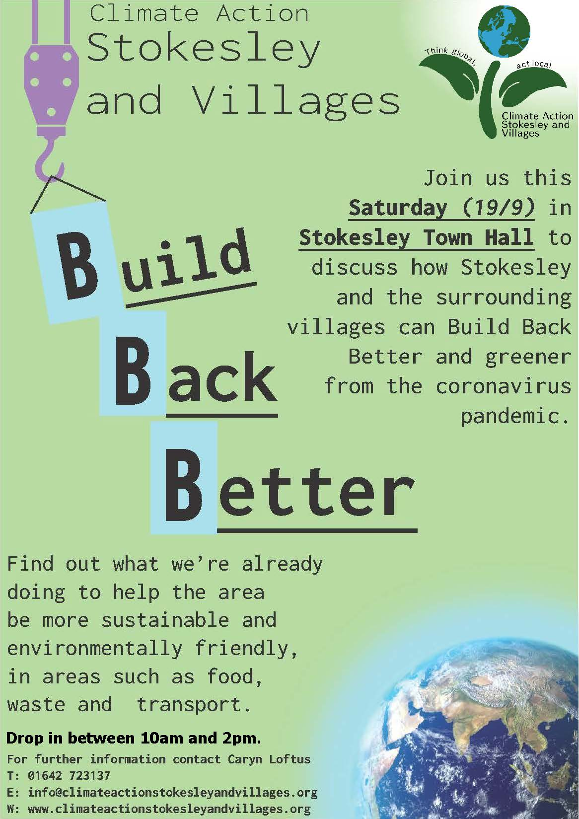 casav build back better event poster 190920